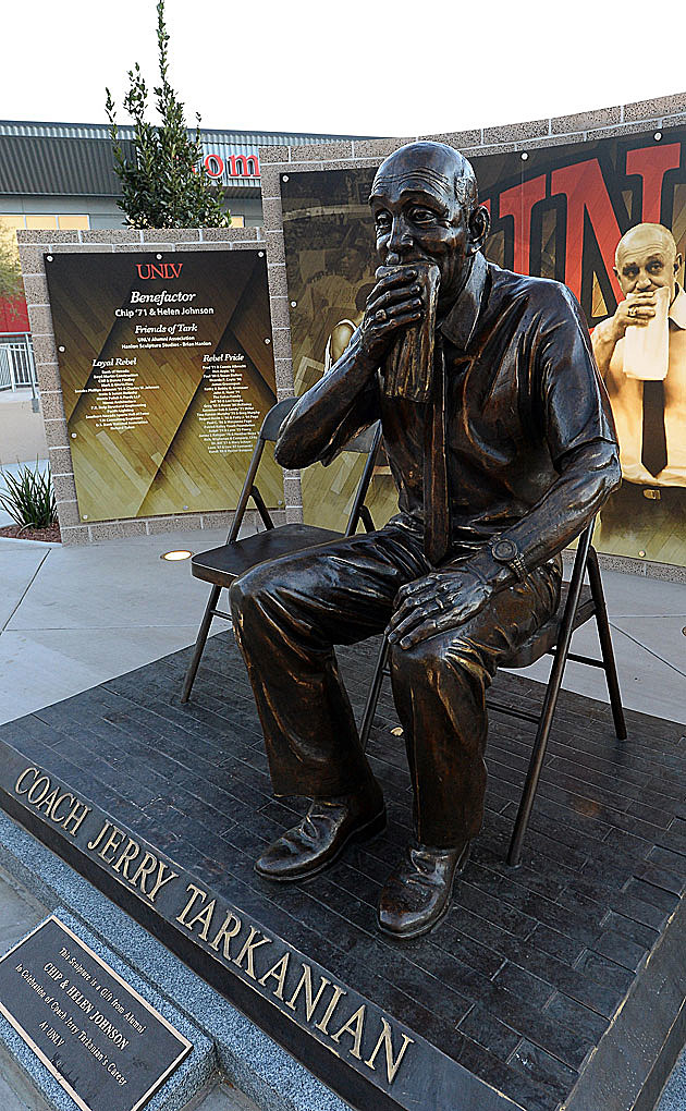 Jerry Tarkanian Statue