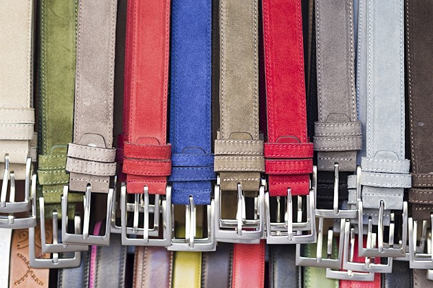 colored belts