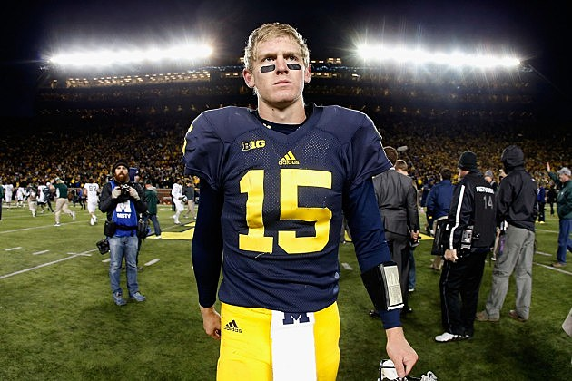 Michigan QB Jake Rudock after loss to Michigan State