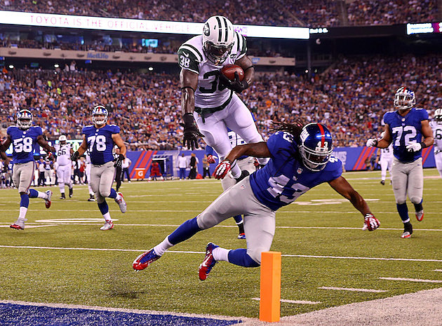 Catching up with ex-Jets turned Giants