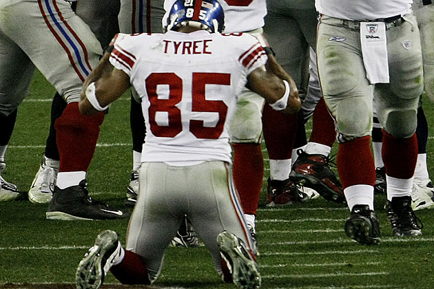 David Tyree Super Bowl XLII