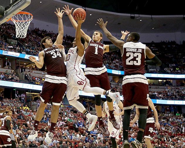 NCAA Basketball Tournament - West Regional - Texas A&M v Oklahoma