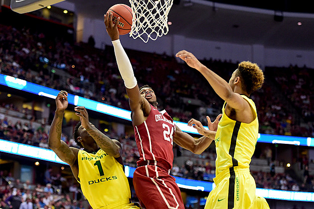 NCAA Basketball Tournament - West Regional - Oklahoma v Oregon