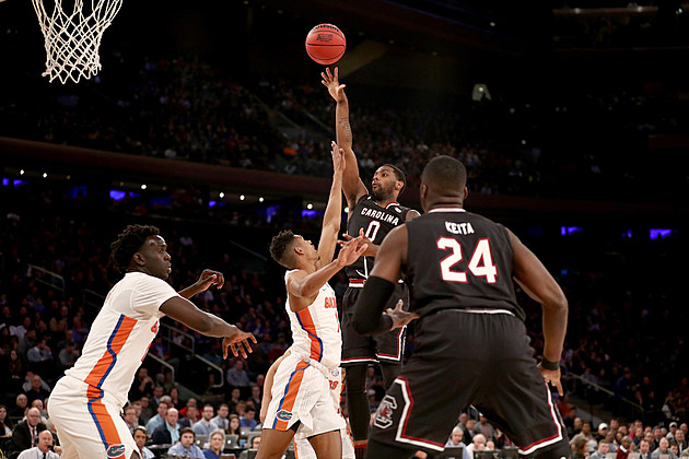 NCAA Basketball Tournament - East Regional - South Carolina v Florida