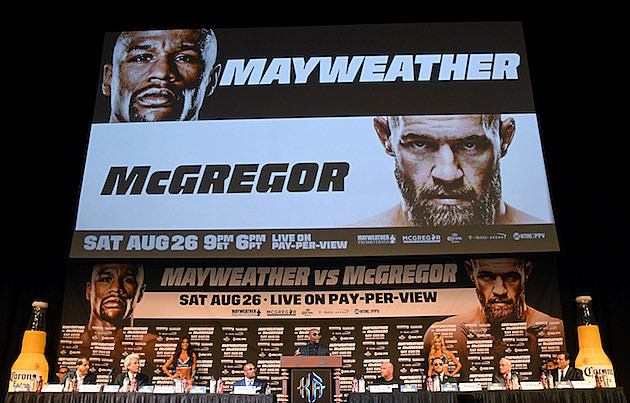 Floyd Mayweather Jr. v Conor McGregor - News Conference