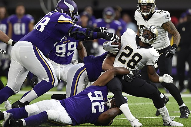 New Orleans Saints v Minnesota Vikings