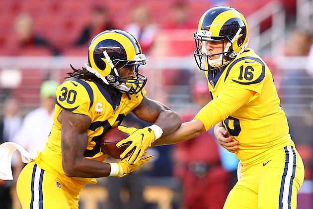 Los Angeles Rams vs San Francisco 49ers