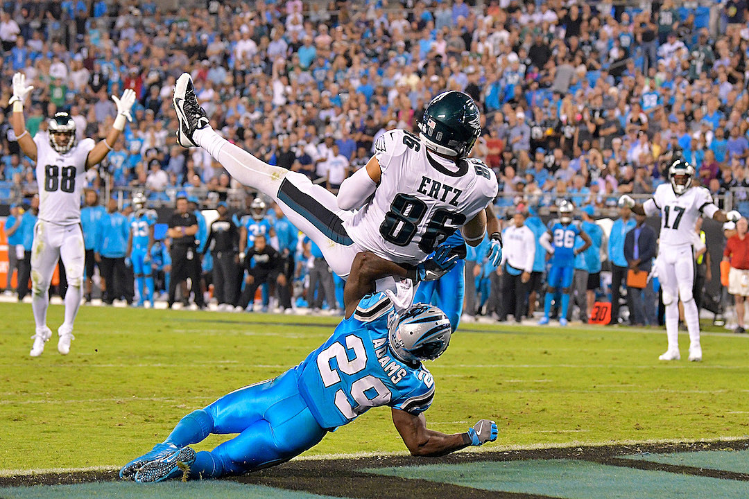 Eagles Hold Off Panthers, 28-23