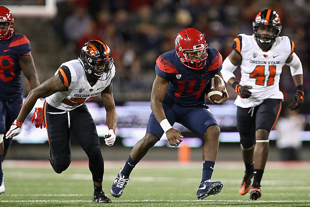 Oregon State v Arizona